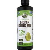 Manitoba Harvest Hemp Seed Oil, Organic, 12 g Omegas 3 & 6
