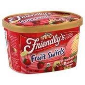 Friendly's Ice Cream & Sherbet, Premium, Strawberry Banana Creme
