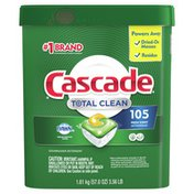 Cascade Total Clean Actionpacs, Dishwasher Detergent, Fresh Scent