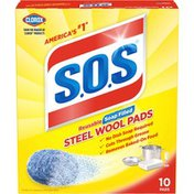 S.O.S Reusable Soap Filled Steel Wool Pads