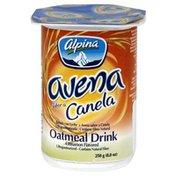 Alpina Oatmeal Drink, Cinnamon Flavored