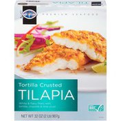 High Liner Tortilla Crusted TILAPIA White & flaky fillets encrusted with corn tortilla chips, chipotle pepper & garlic