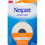 Nexcare Athletic Tape, For Sports, Strong Hold, 1.5 Inch