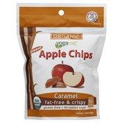 Yogavive Apple Chips, Organic, Popped, Caramel