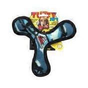 Tuffy Blue Camoflague Print Junior Bowmerang Dog Toy