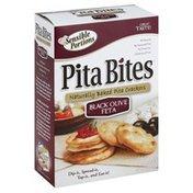 Sensible Portions Pita Bites, Black Olive Feta