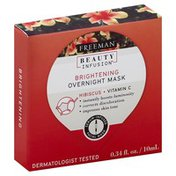 Freeman Overnight Mask, Brightening, Hibiscus + Vitamin C