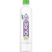 Qure Purified Water, Cucumber Mint Flavored, pH 10