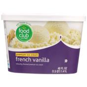 Food Club French Vanilla Premium Ice Cream