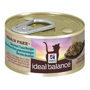 Hill's Science Diet Ideal Balance Grain Free Tuna Canned Cat Food