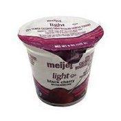 Meijer Black Cherry Blended Nonfat Yogurt