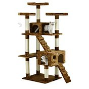 Go Pet Club Kitten Cat Tree Condo with Scratching Board