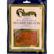Echo Falls Smoked Salmon, Wild Alaskan Sockeye, Lemon Pepper
