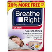 Breathe Right Extra Tan Nasal Strips