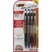 BiC Ball Pens, Trusted Classic, Assorted, Medium