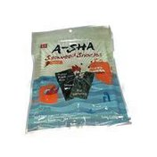A-Sha Foods Seaweed Spicy Snacks