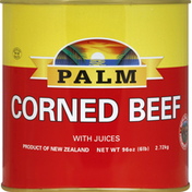 Palm Corned Beef, with Juices