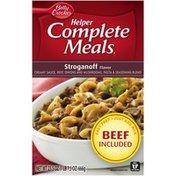 Betty Crocker Stroganoff Helper Complete Meals