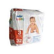 Meijer Size 3 Jumbo Baby Diapers