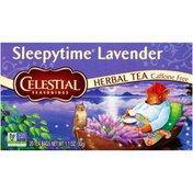 Celestial Seasonings Sleepytime Lavender Caffeine Free Herbal Tea Bags