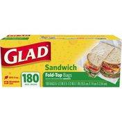 Glad Food Storage Bags, Sandwich Fold Top