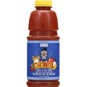 Arriba! Chelada, Clam & Sea Salt, Spicy