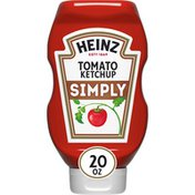 Heinz Simply Tomato Ketchup with No Artificial Sweeteners