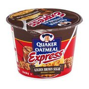 Quaker Instant Oatmeal Express Golden Brown Sugar