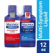 Mucinex® Maximum Strength* Fast-Max® Severe Congestion & Cough & Night Time Cold & Flu (Combo Pack)