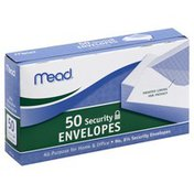 Mead Envelopes, Security, 6.75, Box