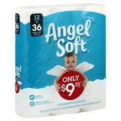Angel Soft Bathroom Tissue, Unscented, 2-Ply, Huge Roll