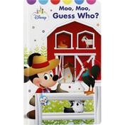 Disney Book, Moo, Moo, Guess Who?
