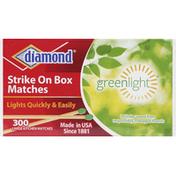 Diamond Matches, Strike On Box, Kitchen, Large