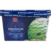 Harris Teeter Ice Cream, Mint Chocolate Chip
