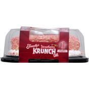 Friendly's Ice Cream Cake, Premium, Strawberry Krunch