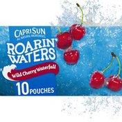 Capri Sun Wild Cherry Waterfall Naturally Flavored Water Beverage