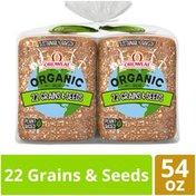 Oroweat Organic Non-GMO 22 Grains & Seeds Bread