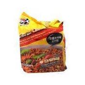 Wu Mu 5 S Beef Flavor Chow Mein