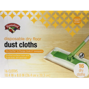 Hannaford Disposable Dry Floor Dust Cloths