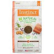 Instinct Be Natural Real Salmon & Brown Rice Recipe Dry Dog Food