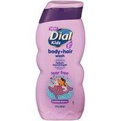 Dial Kids Body + Hair Wash, Bubble Berry