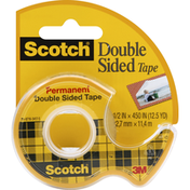 Scotch Tape, Double Sided, Permanent