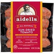 Aidells Sausage, Smoke Chicken & Turkey, Sun-Dried Tomato