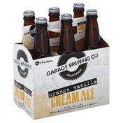 Garage Brewing Beer, Cream Ale, Orange Vanilla