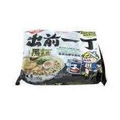 Nissin Black Garlic Tonkotsu Instant Noodles