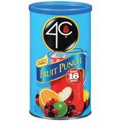 4C Foods Drink Mix, Fruit Punch