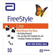 Freestyle Lite For In Vitro Diagnostic Use Test Strips Not For Retail Sale