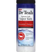 Dr. Teal's Vapor Bath, Epsom Salt, Eucalyptus and Menthol