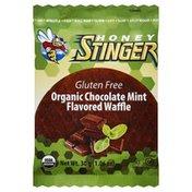 Honey Stinger Waffle, Gluten Free, Organic, Chocolate Mint Flavored
