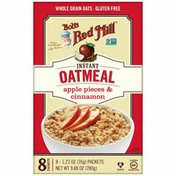 Bob's Red Mill Apple Pieces & Cinnamon Oatmeal Packets